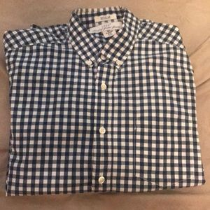 H&M Shirts - Blue and white button down shirt